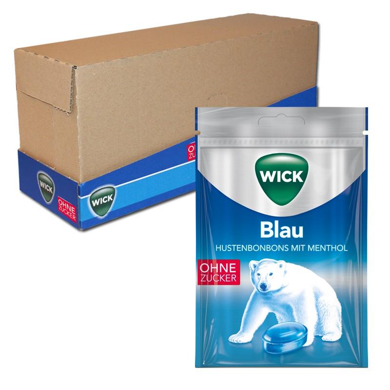 Wick-Blau-ohne-Zucker-72g-Hals-Bonbon-20-Beutel