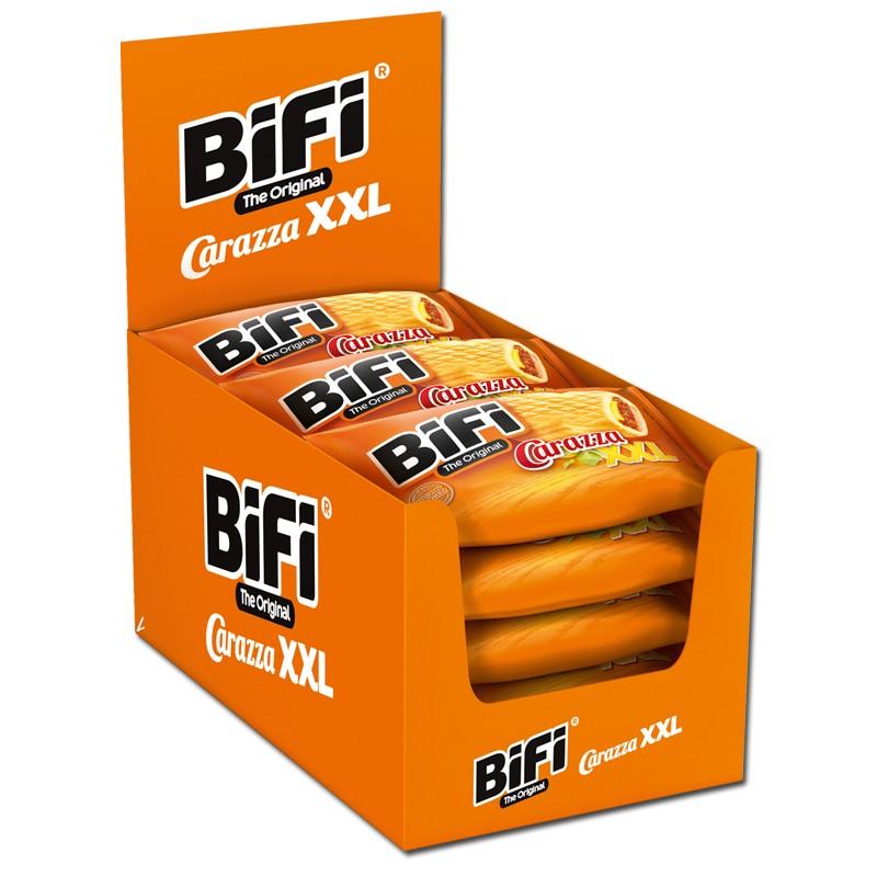 Bifi-Carazza-XXL-Pizza-Snack-Weizen-Gebäck-15-Stück