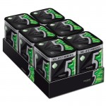 Wrigleys-5-Gum-Electro-Minze-Kaugummi-6-Dosen