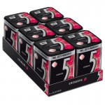 Wrigleys-5-Gum-Strawberry-Erdbeere-Kaugummi-6-Dosen