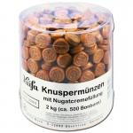 Küfa-Knuspermünzen-2-Kg-Bonbons-mit-Nougatcremefüllung