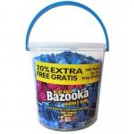 Bazooka-Gum-Himbeere-Eimer-Kaugummi-240-Stück-je-56g