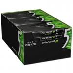 Wrigleys-5-Gum-Electro-Spearmint-Kaugummi-15-Packungen