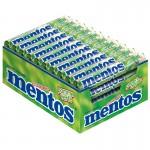Mentos-Grüner-Apfel-Rolle-Kau-Bonbon-Dragee-40-Stück