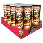 Pringles-Hot-und-Spicy-Chips-Dose-190g-19-Stück