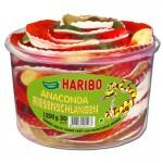 Haribo-Anaconda-Riesen-Schlangen-Fruchtgummi-Schaumzucker-30Stk