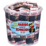 Haribo-Lakritz-Schnecken-Rotella-Minibeutel-100-Stueck