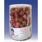 Kuefa-Erdbeer-Karamell-Kugel-Lutscher-100-Stueck