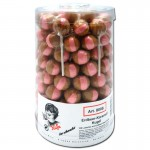 Küfa-Erdbeer-Karamell-Kugel-Lutscher-100-Stück